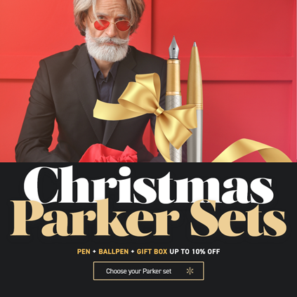 Christmas Parker sets 10% off
