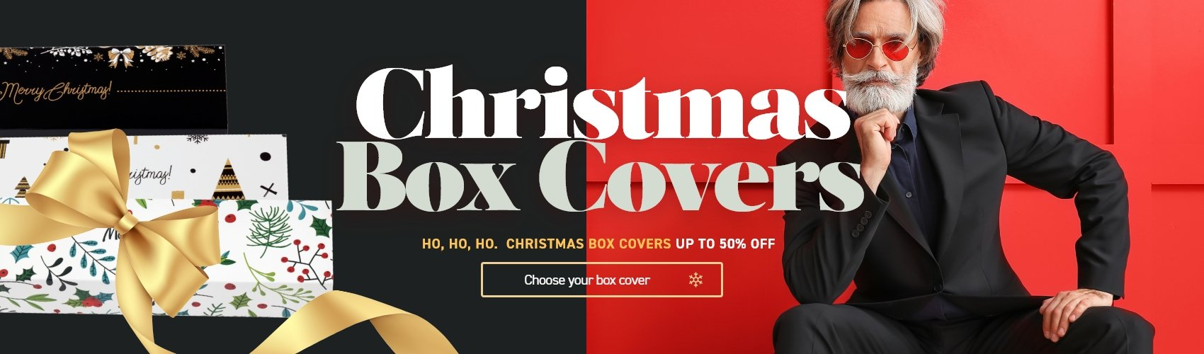christmas box cover 50%off