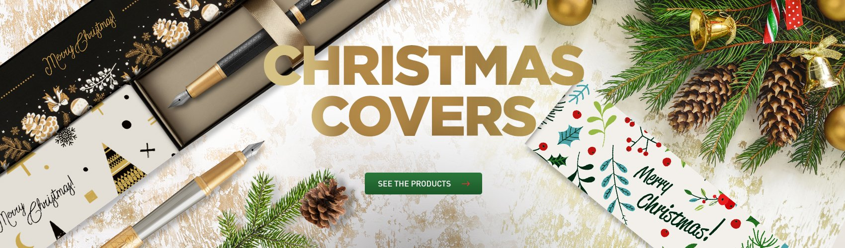Parker covers for Christmas