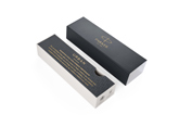 Parker Urban Premium New Ebony Metal CT Fountain Pen + Ballpoint Pen in a Gift Box