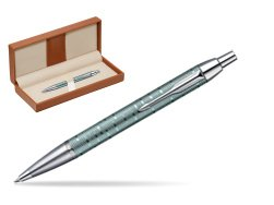 Parker  IM Premium Emerald Pearl  Ballpoint Pen New In Box 1906733
