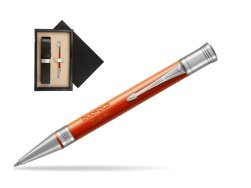 Parker Duofold Classic Big Red Vintage CT Ballpoint Pen  single wooden box  Wenge Single Ecru