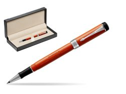 Parker Duofold Classic Big Red Vintage CT Rollerball Pen  in classic box  black