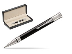 Parker Duofold Classic Black CT Ballpoint Pen  in classic box  pure black