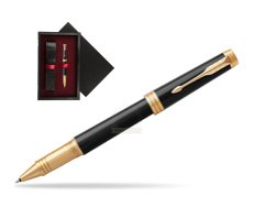 Parker Black Lacquer GT Rollerball Pen  single wooden box  Black Single Maroon