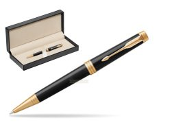 Parker Premier Black Lacquer GT Ballpoint Pen  in classic box  pure black