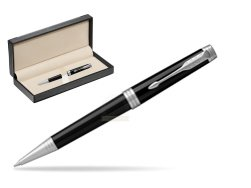 Parker Black Lacquer PT Ballpoint Pen  in classic box  black