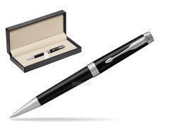 Parker Premier Black Lacquer PT Ballpoint Pen  in classic box  pure black