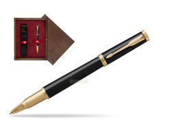 Parker Ingenuity Black Lacquer GT 5-th Technology  single wooden box  Wenge Single Maroon