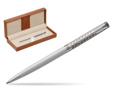 Parker Sonnet Metal & Pearl Lacquer Slim CT Ballpoint Pen  in classic box brown