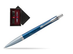 Parker Urban Premium Dark Blue CT Ballpoint Pen  single wooden box  Black Single Maroon
