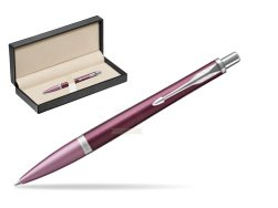 Parker Urban Premium Dark Purple CT Ballpoint Pen  in classic box  pure black