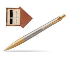 Parker Urban Premium Aureate Powder GT Ballpoint Pen  single wooden box  Mahogany Single Ecru