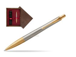 Parker Urban Premium Aureate Powder GT Ballpoint Pen  single wooden box  Wenge Single Maroon
