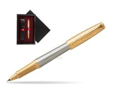 Parker Urban Premium Aureate Powder GT Rollerball Pen  single wooden box  Black Single Maroon