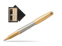 Parker Urban Premium Aureate Powder GT Rollerball Pen  single wooden box  Wenge Single Ecru