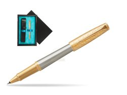 Parker Urban Premium Aureate Powder GT Rollerball Pen  single wooden box  Black Single Turquoise