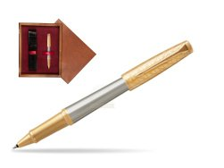 Parker Urban Premium Aureate Powder GT Rollerball Pen  single wooden box Mahogany Single Maroon