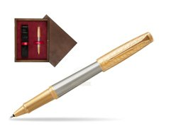 Parker Urban Premium Aureate Powder GT Rollerball Pen  single wooden box  Wenge Single Maroon