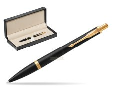 Parker Urban Muted Black GT Ballpoint Pen  in classic box  pure black