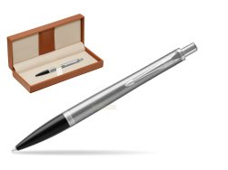 Parker Urban Metro Metallic CT Ballpoint Pen  in classic box brown