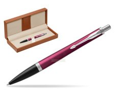 Parker Urban Vibrant Magenta CT Ballpoint Pen  in classic box brown