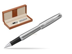 Parker Urban Metro Metallic CT Rollerball Pen  in classic box brown