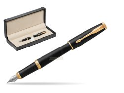 Parker Urban Muted Black GT Fountain Pen   in classic box  black