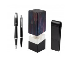 Parker Urban Black Cab CT Fountain Pen + Ballpoint Pen in a Gift Box T2016  StandUP Crazy line
