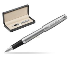 Parker Urban Metro Metallic CT Fountain Pen   in classic box  black