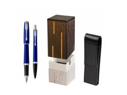 Parker Urban Nightsky Blue CT T2016 Fountain Pen + Ballpoint Pen in a Gift Box in gift box StandUP Matrix