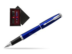 Parker Urban Nightsky Blue CT Fountain Pen   single wooden box  Black Single Maroon