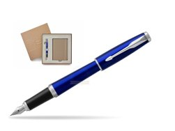Parker Urban Nightsky Blue CT Fountain Pen T2016 in a Gift Box