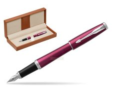 Parker Urban Vibrant Magenta CT Fountain Pen   in classic box brown
