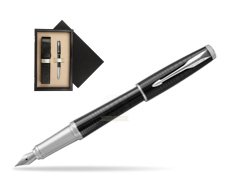 Parker Urban Premium New Ebony Metal CT Fountain Pen   single wooden box  Wenge Single Ecru