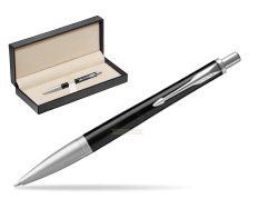 Parker Urban Premium Ebony Metal CT Ballpoint Pen  in classic box  pure black