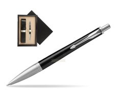 Parker Urban Premium Ebony Metal CT Ballpoint Pen  single wooden box  Wenge Single Ecru