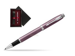 Parker IM Light Purple CT Rollerball Pen  single wooden box  Black Single Maroon