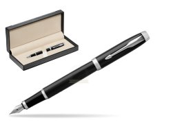 Parker IM Black CT Fountain Pen  in classic box  black