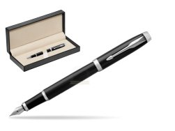 Parker IM Black CT Fountain Pen  in classic box  pure black