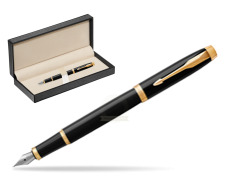 Parker IM Black GT Fountain Pen  in classic box  pure black