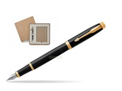 Parker IM Black GT Fountain Pen T2016 in a Gift Box