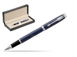 Parker IM BLUE CT Fountain Pen  in classic box  black