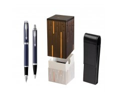 Parker IM BLUE CT Fountain Pen T2016 Fountain Pen + Ballpoint Pen in a Gift Box  StandUP Matrix