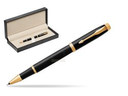 Parker IM Black GT Rollerball Pen  in classic box  pure black