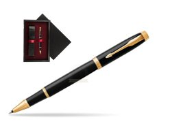 Parker IM Black GT Rollerball Pen  single wooden box  Black Single Maroon