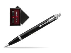 Parker IM Black CT Ballpoint Pen  single wooden box  Black Single Maroon
