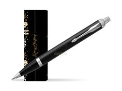 Parker IM Black CT Ballpoint Pen in cover Golden Tree