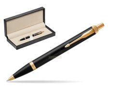 Parker IM Black GT Ballpoint Pen  in classic box  pure black