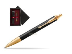 Parker IM Premium Black GT Ballpoint Pen  single wooden box  Black Single Maroon